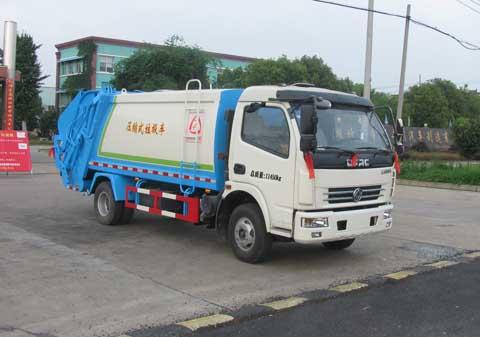 6方压缩式垃圾车