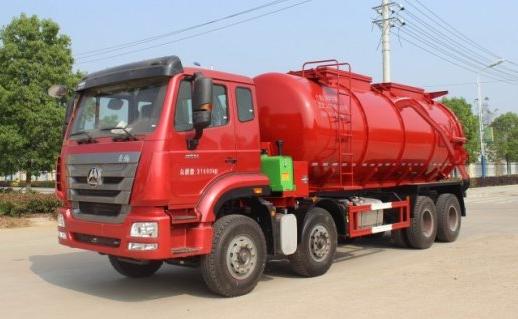 重汽20.4方污泥运输车