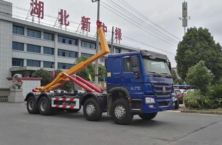 重汽30吨勾臂式垃圾车