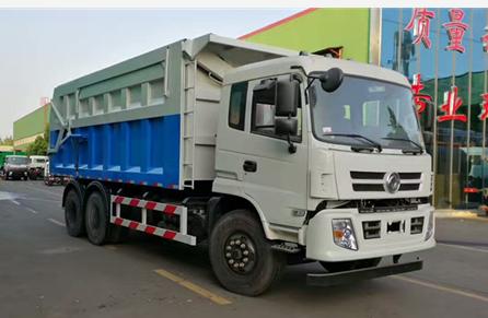 东风新款对接式垃圾车20-25吨