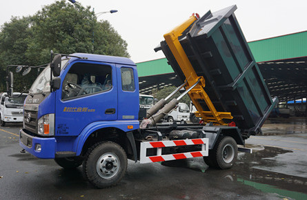 10吨勾臂式垃圾车