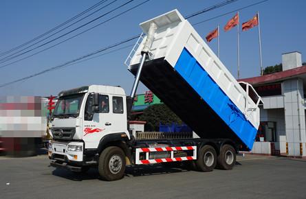 重汽后八轮压缩对接垃圾车25吨28吨