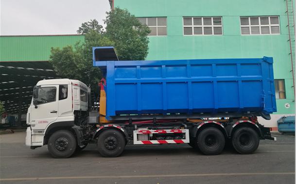 30吨勾臂车+35方箱