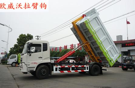 东风天锦20吨(20方箱)