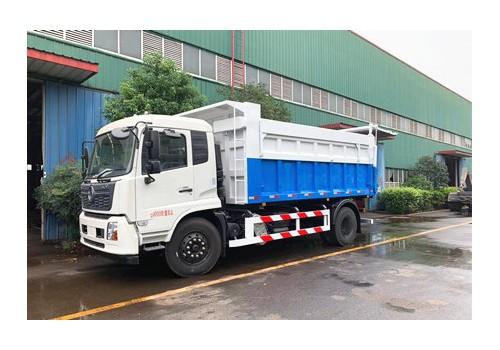 18方东风天锦自卸式垃圾车
