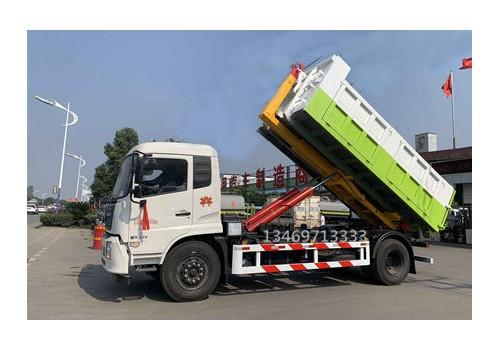 天锦16吨勾臂式垃圾车