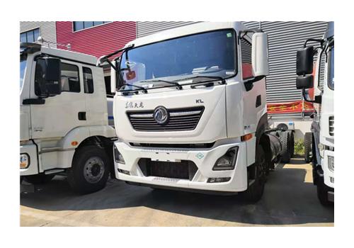 东风LNG勾臂式垃圾车
