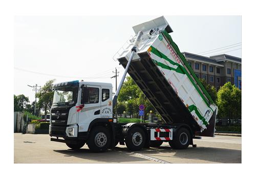 自卸式污泥运输车