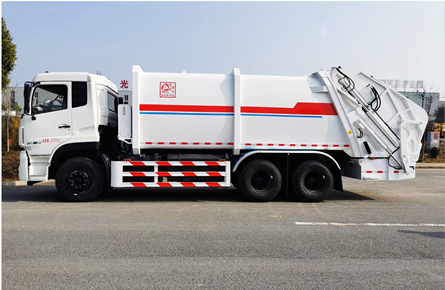 18方东风天龙压缩式垃圾车