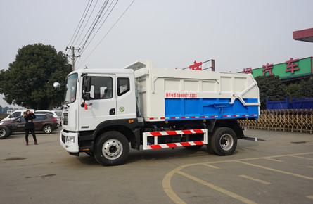 东风D9建筑垃圾车