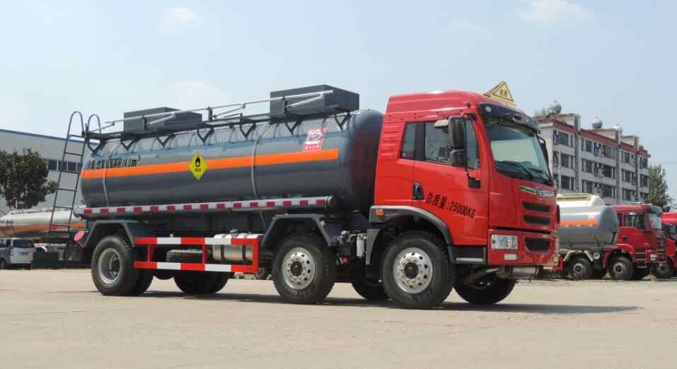 5类氧化性物品罐式运输车